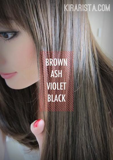 Kirari new haircolor ash