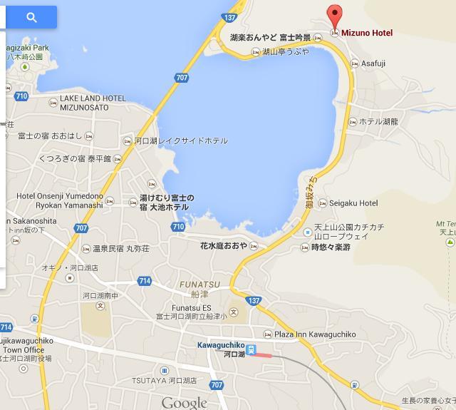 mizuno hotel map