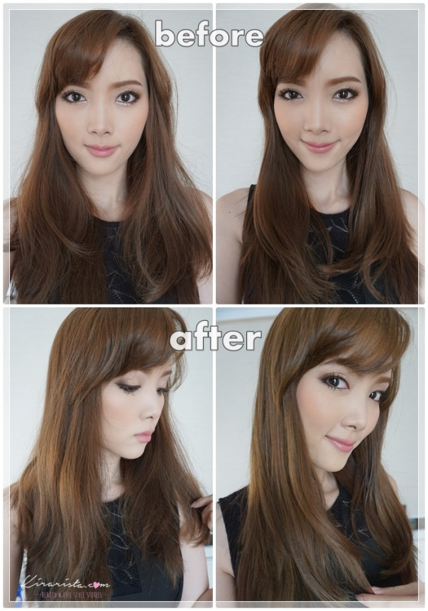 before after_ex-oil