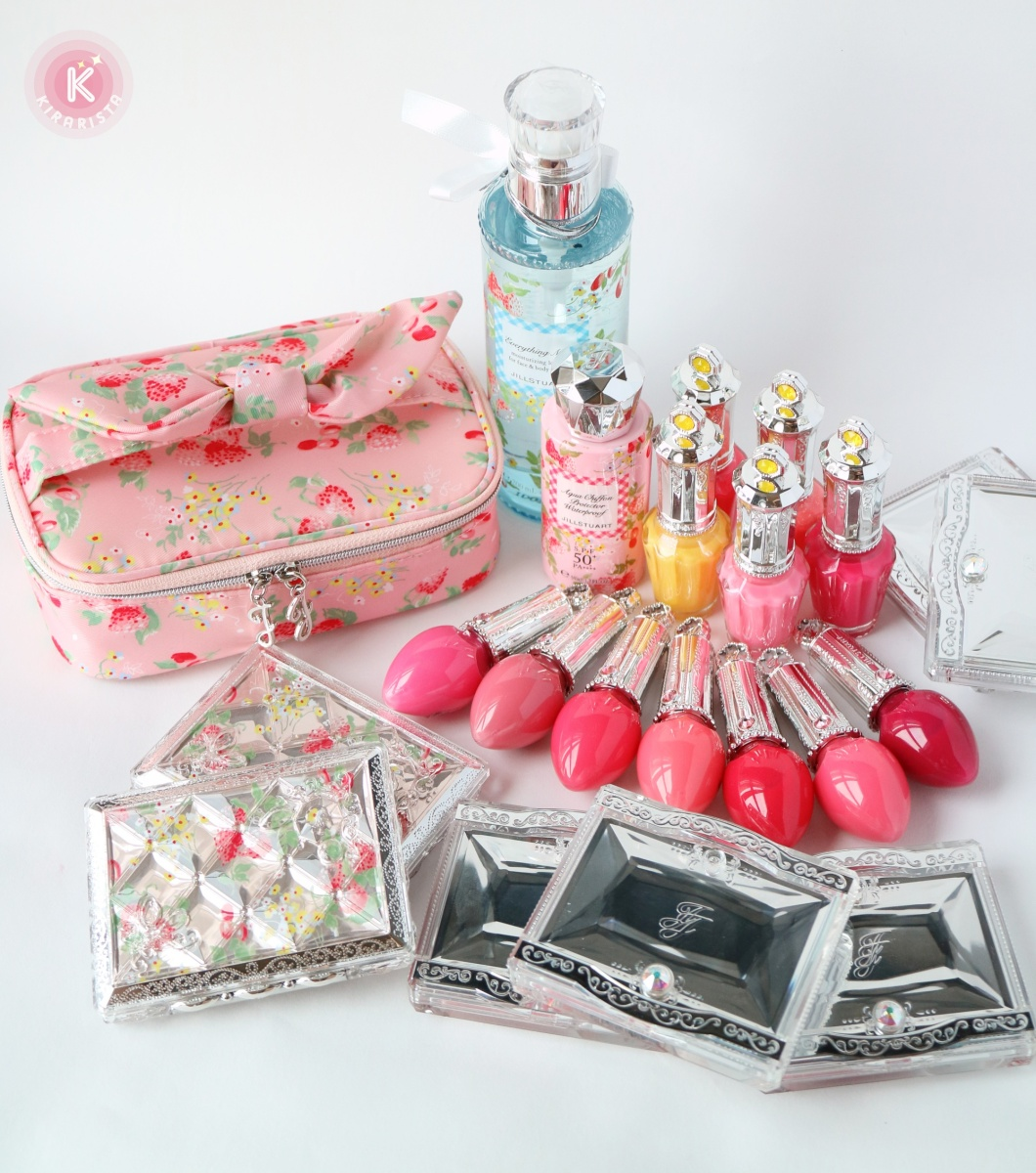 "JILL STUART Summer Picnic ""Blooming Dew"" ~Full collection review~"