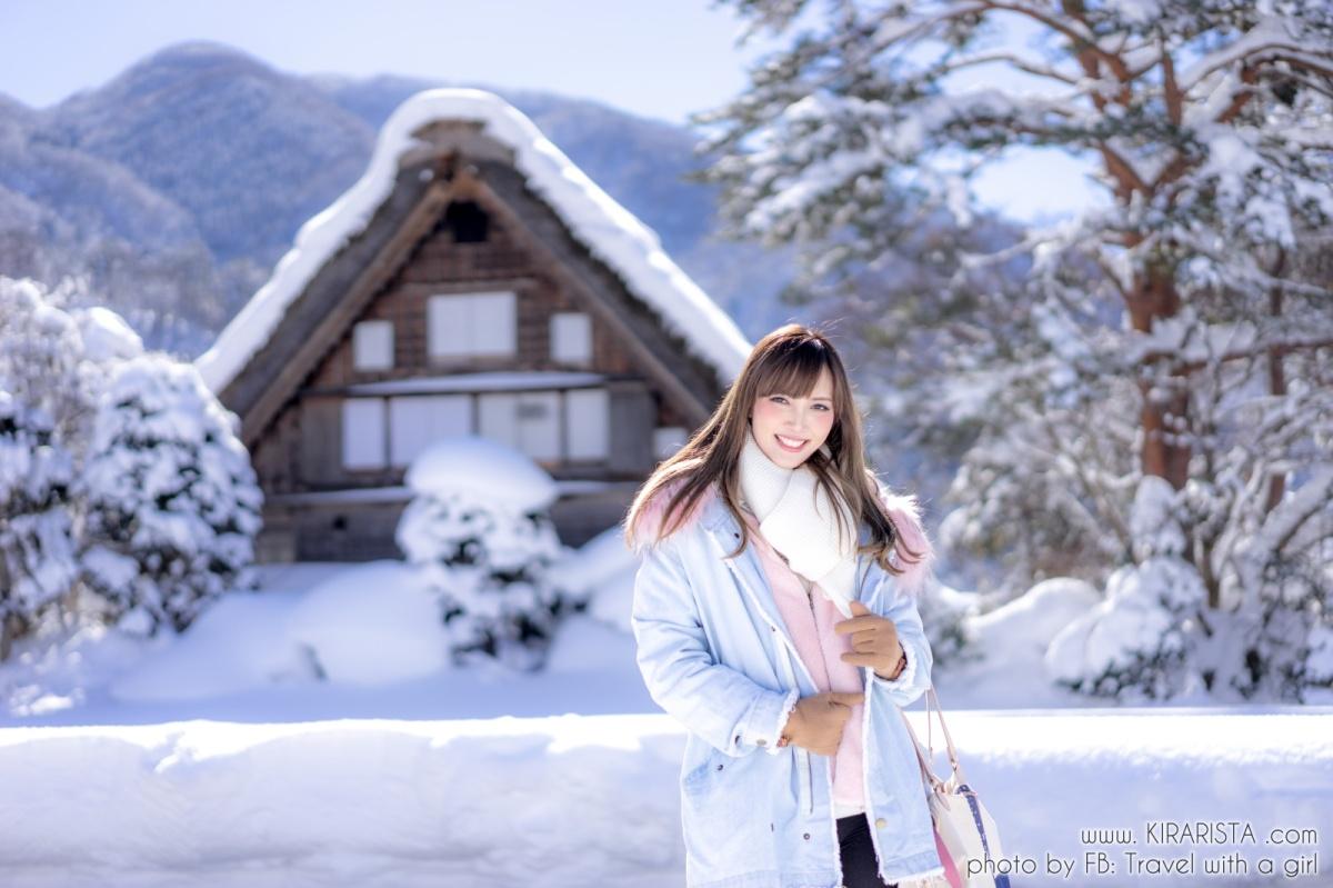 เที่ยว Shirakawa-go พักบ้านชาวนา 2 วัน 1 คืนในวันหิมะนุ่มฟู  白川郷の旅
