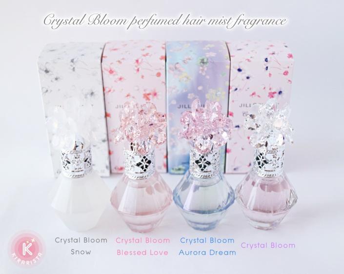ผลการค้นหารูปภาพสำหรับ JILL STUART Crystal Bloom Perfumed Hair Mist Fragrance 30 ml.